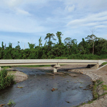 The Project for Construction of Bridges on Bougainville Coastal Trunk Road in the Independent State of Papua New Guinea
