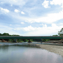 The Project for the Reconstruction of Bridges in East Guadalcanal in Solomon Islands