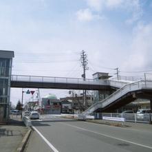 双葉歩道橋架設2