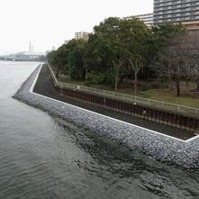京浜運河大井護岸