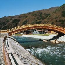 ふるさと広場木曽木橋