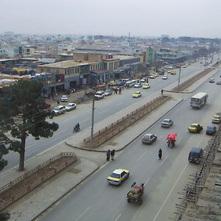 マスード道路および病院道路改修