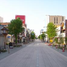 長野中央通り石畳化整備